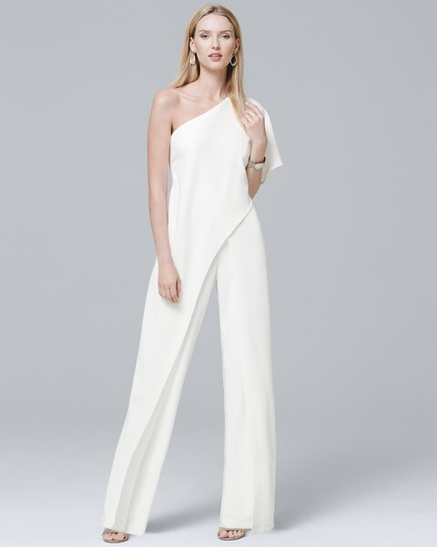 fb2487c8752 Return to thumbnail image selection One-Shoulder Jumpsuit video preview  image