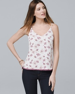 White House Black Market Reversible Woven Cami at White House | Black Market in Sherman Oaks, CA | Tuggl