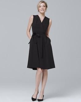 White House Black Market Sleeveless Surplice Dress at White House | Black Market in Sherman Oaks, CA | Tuggl