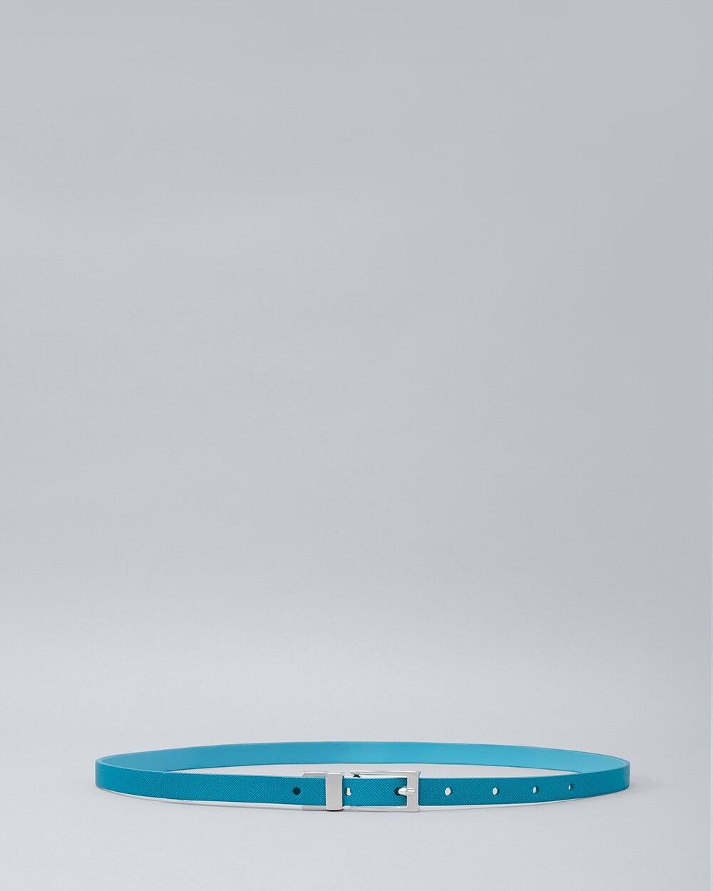 5f8ef6072 Reversible Skinny Belt - White House Black Market