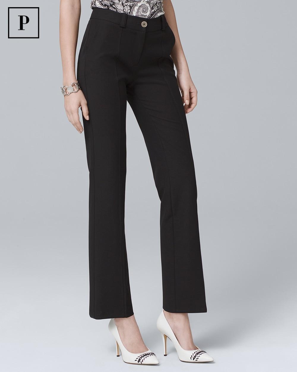 Petite Black Ankle Trouser Pants White House Black Market