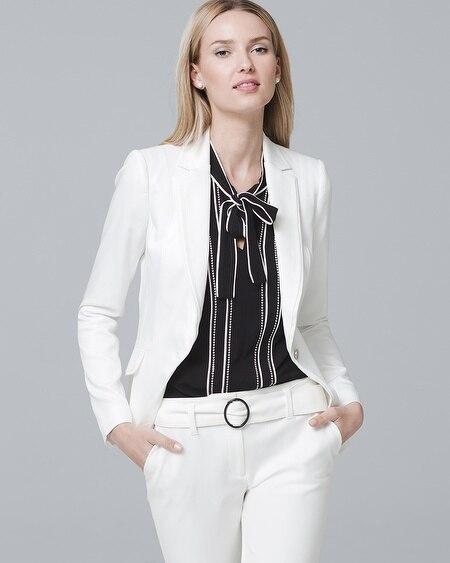 White House | Black Market. Single-Button Blazer Jacket