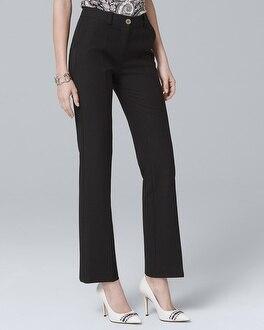 Black Ankle Trouser Pants | Tuggl