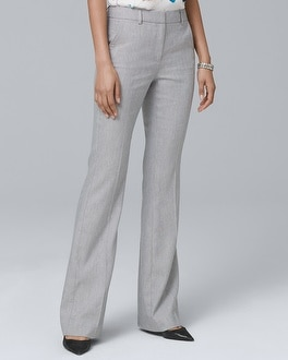 Linen Blend Flare Pants by Whbm