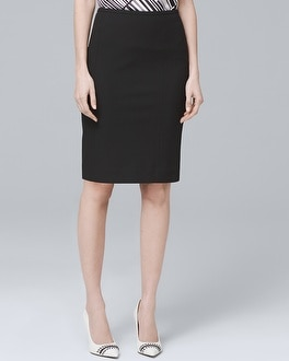 Hobby Dobby Textured Pencil Skirt | Tuggl