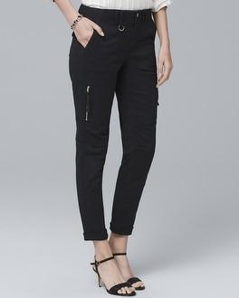 Utility Slim Crop Jeans | Tuggl