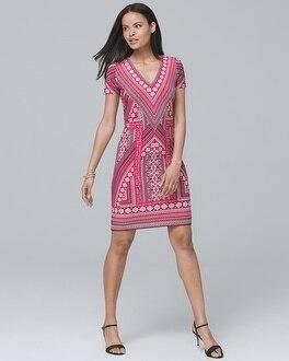 Geo Knit Sheath Dress by Whbm