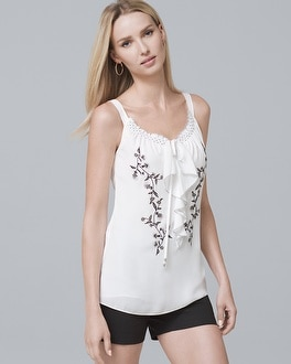 Embroidered Shell by Whbm