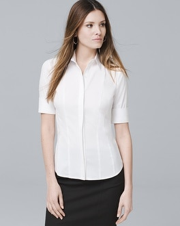White Button-Down Shirt | Tuggl