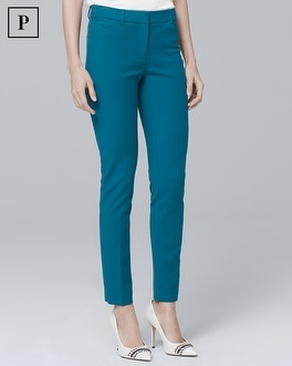 Petite Comfort Stretch Slim Ankle Pants | Tuggl
