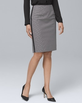 Geometric Pencil Skirt | Tuggl