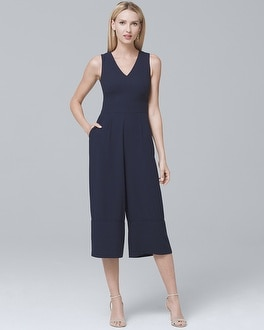 V-Neck Jumpsuit | Tuggl
