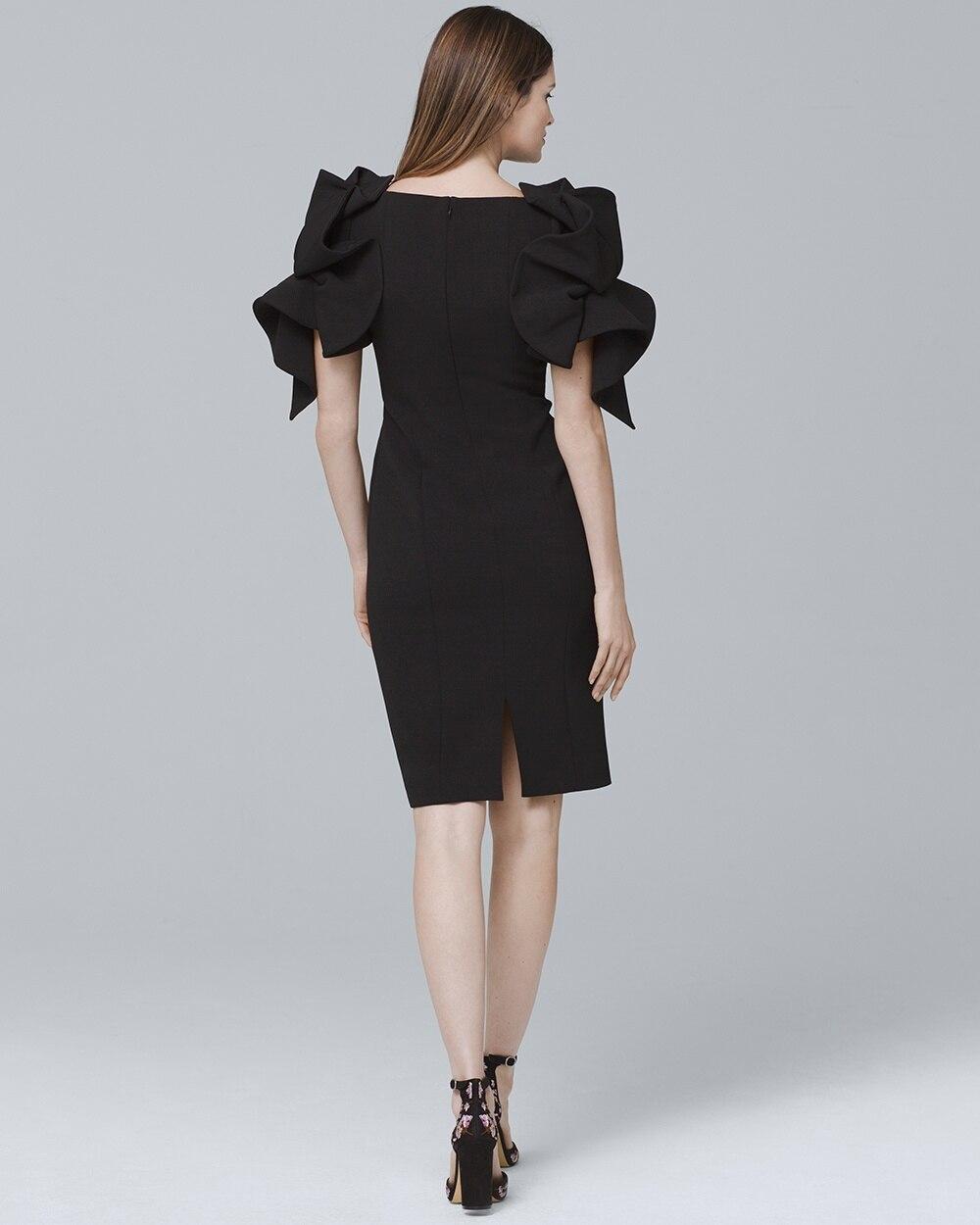 Origami Sleeve Dress White House Black Market