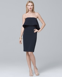 Strapless Popover Dress | Tuggl