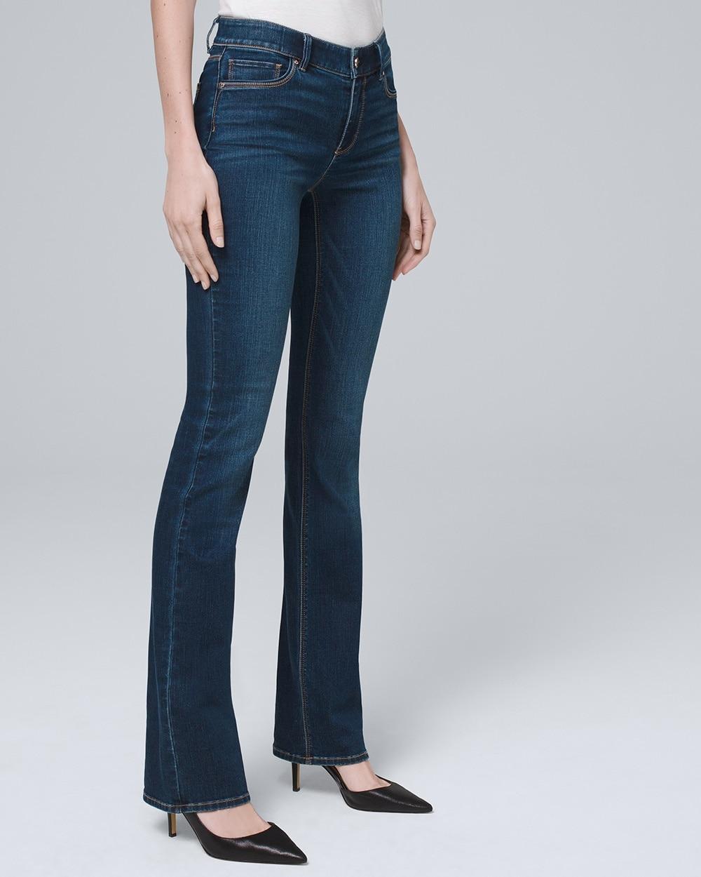bc669323988 Mid-Rise Bootcut Jeans - White House Black Market