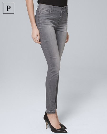 Petite High-Rise Skinny Jeans