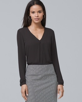 Single-Pleat Blouse | Tuggl