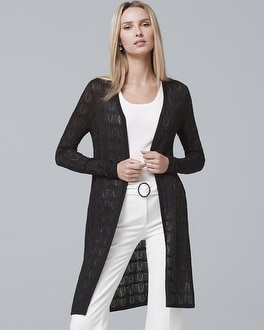 Textured Knit Cover Up by Whbm