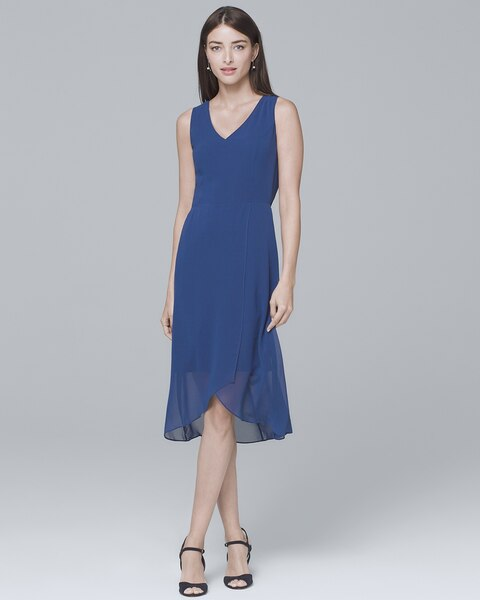eaa26a9c50af Return to thumbnail image selection Sleeveless High-Low Soft Dress video  preview image, click to start video