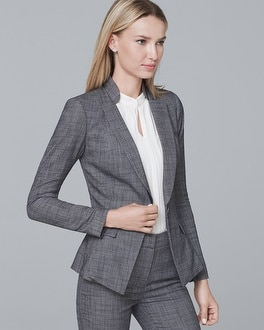 Peplum Suiting Blazer Jacket | Tuggl