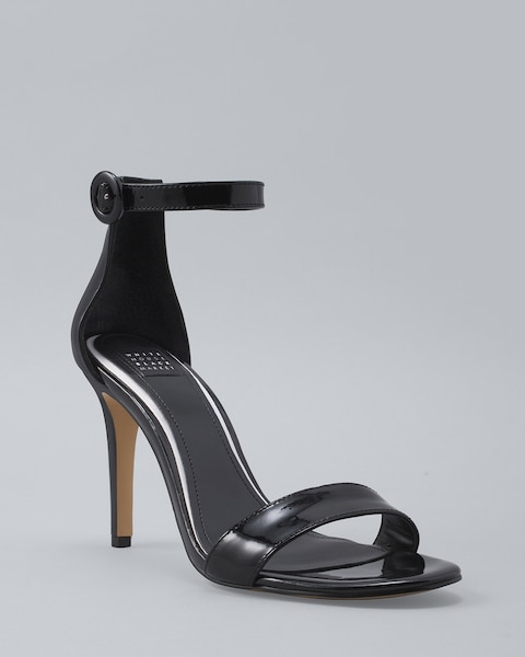 2615d75a442 Satin-Bow Patent Leather Heels
