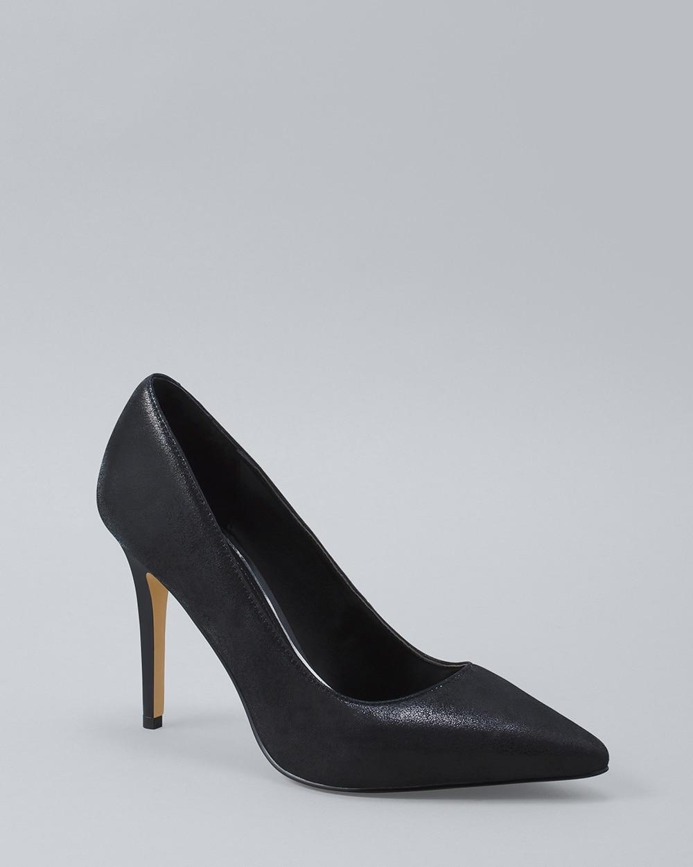 Olivia Suede White House Black Market Shoes