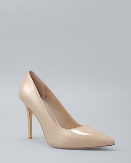 Olivia Patent Leather Heels | Tuggl