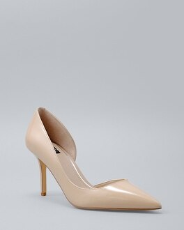 Ella Patent Leather Heels | Tuggl