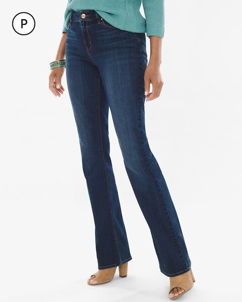 Petite Barely Bootcut Jeans