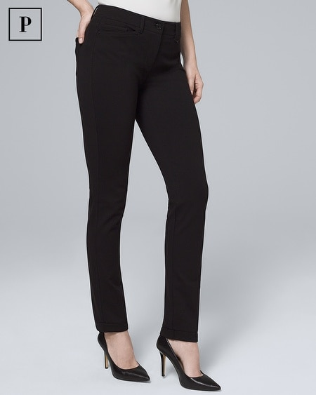 Petite Effortless Slim Pants