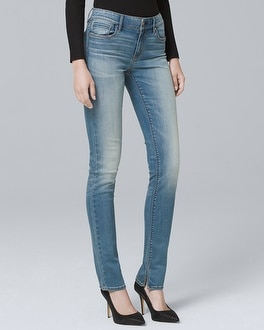 Mid Rise Slim Jeans by Whbm