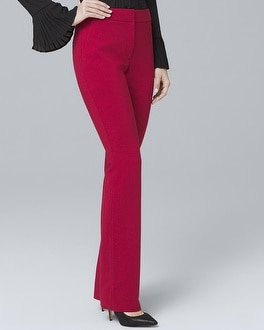 Crepe Slim Flare Suiting Pants | Tuggl