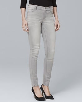 Classic-Rise Skinny Ankle Jeans | Tuggl