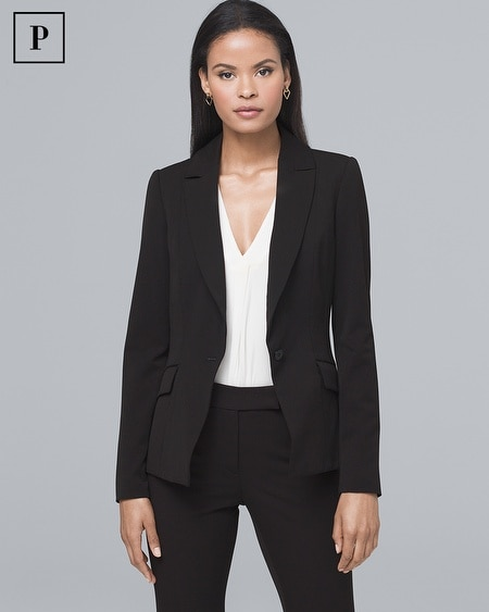 Petite All-Season Suiting Jacket