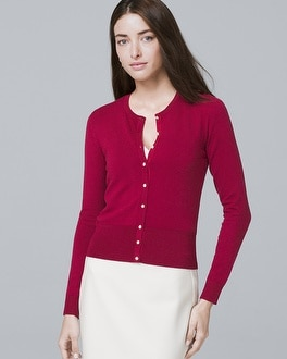 Button Front Cardigan by Whbm
