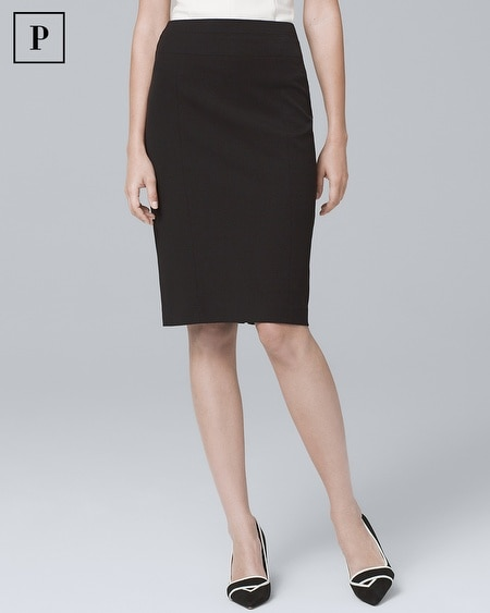 Petite All-Season Pencil Skirt
