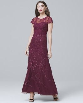 Beaded Gown by Whbm