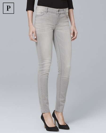 Petite Classic-Rise Skinny Ankle Jeans