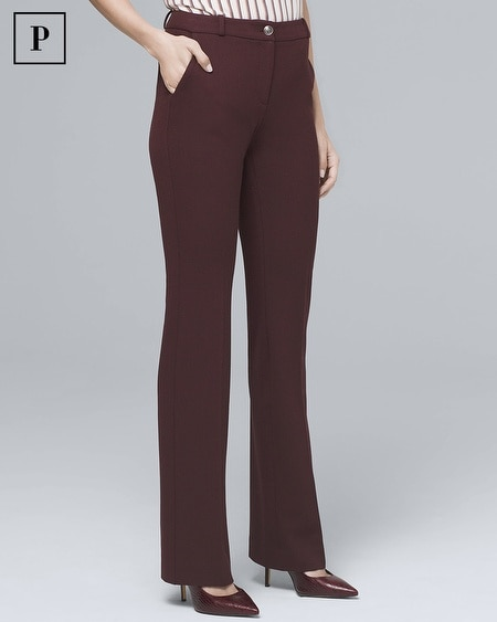 Petite Luxe Suiting Bootcut Pants