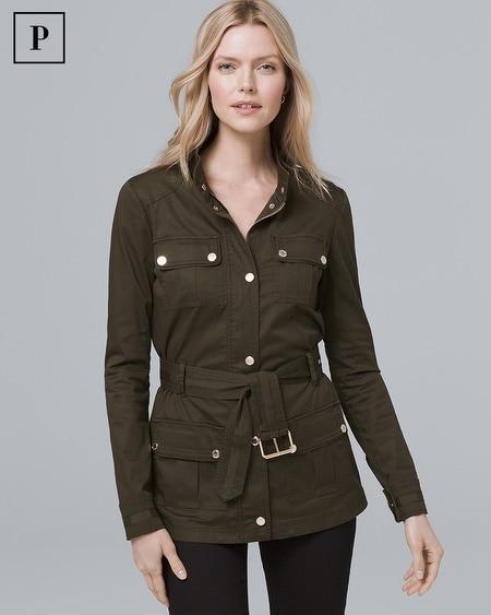 Petite Soft Utility Jacket