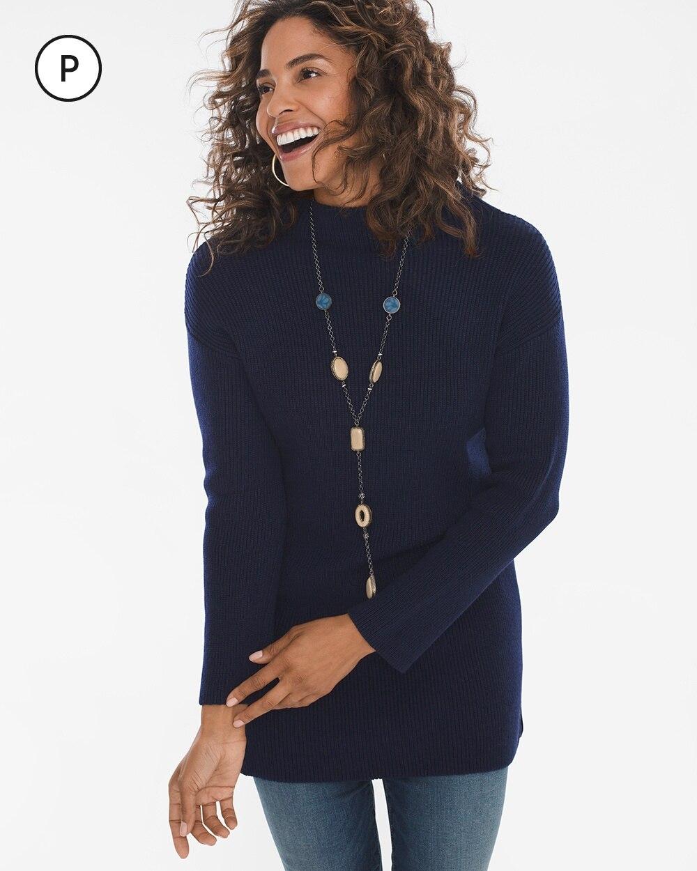 Petite Tunic Sweater