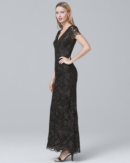 Designer Dresses - Carmen Marc Valvo - White House Black Market