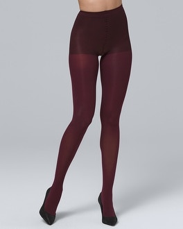 Control Top Opaque Tights by Whbm