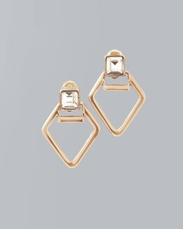 Abstract Geo Stud Earrings | Tuggl
