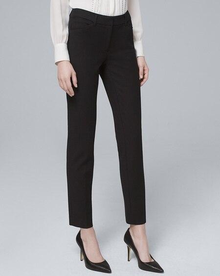 8adfc67ca412 Comfort Stretch Slim Ankle Pants - White House Black Market