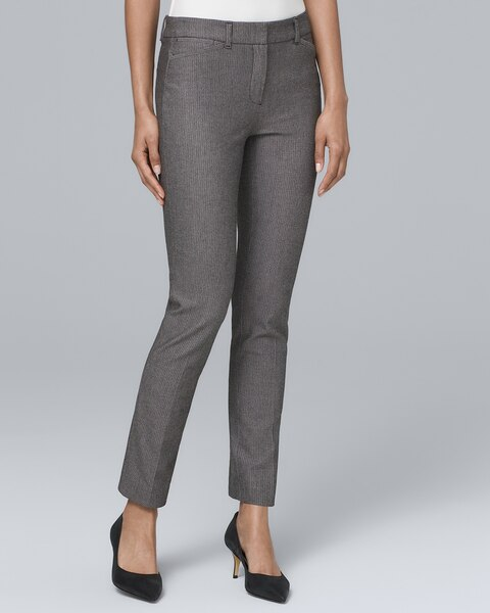 dea89408ab36 Modern Fit Comfort Stretch Slim Ankle Pants - White House Black Market