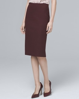 Luxe Suiting Pencil Skirt by Whbm