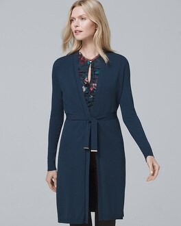 Belted Knit Cover Up by Whbm
