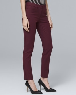 Modern Fit Comfort Stretch Slim Ankle Pants | Tuggl