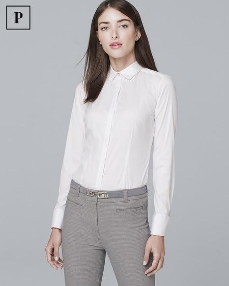 Petite Classic Poplin Shirt